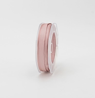 Furlanis nastro carlotta raso bordi rame rosa colore 552 mm.10 Mt.20