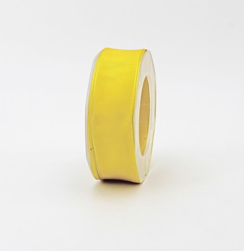Furlanis nastro carlotta raso bordi rame giallo colore 430 mm.27 Mt.20
