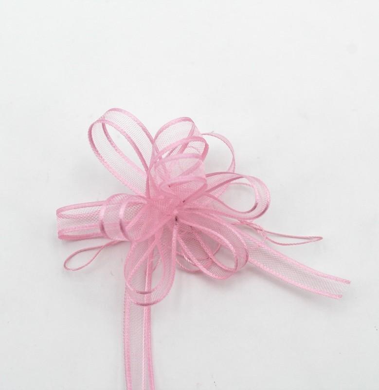 Furlanis nastro organza con tirante rosa colore 20 mm.6 Mt. 50