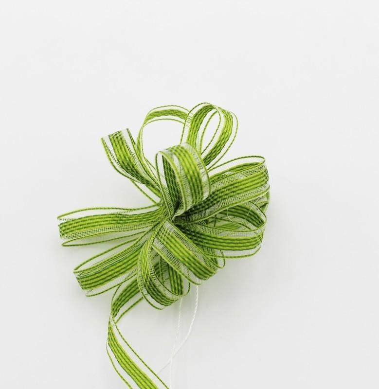 Furlanis nastro rondo con tirante verde colore 139 mm.8 Mt. 25