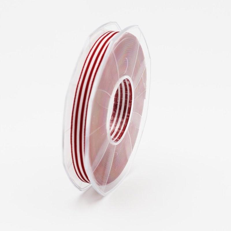 Furlanis nastro bamby rigato rosso colore 46 mm.10 Mt. 25
