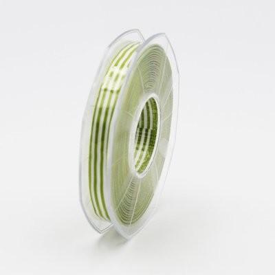Furlanis nastro bamby rigato verde colore 139 mm.10 Mt. 25