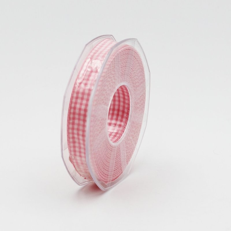Furlanis nastro a quadretti rosa colore 20 mm.15 Mt. 20