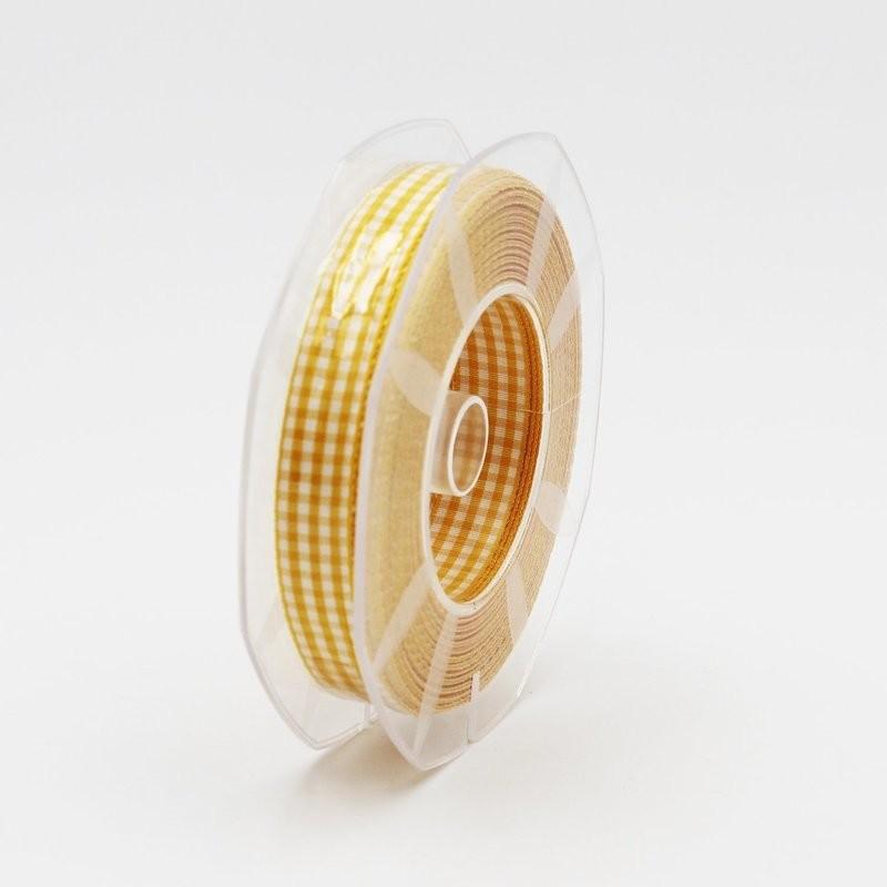 Furlanis nastro a quadretti giallo colore 177 mm.15 Mt. 20