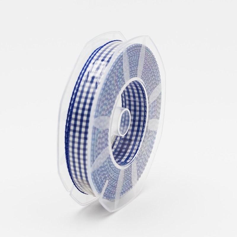 Furlanis nastro a quadretti blu colore 426 mm.15 Mt. 20