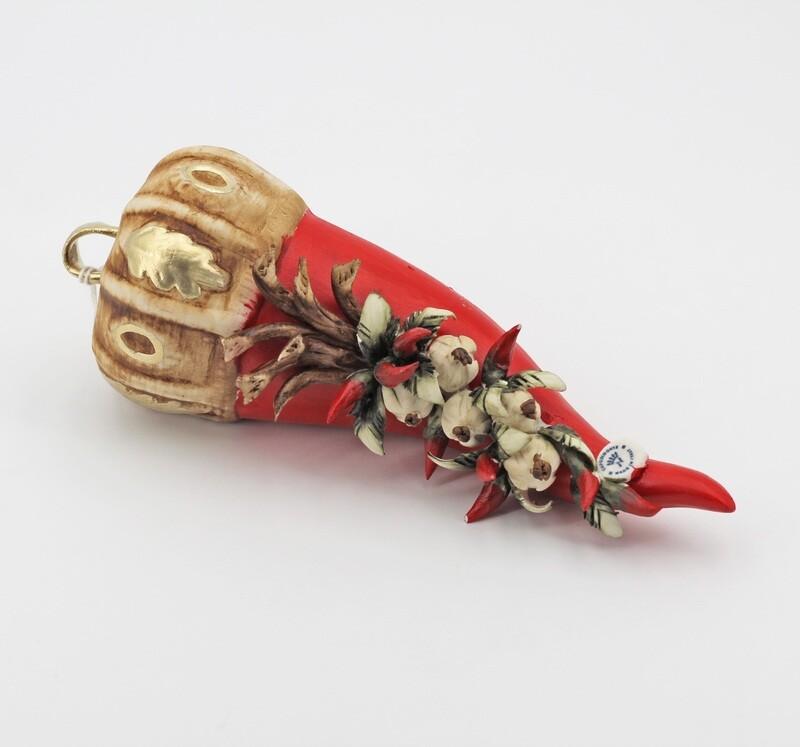 Bomboniera Corno grande rossini *prodotto artigianale* Pz.1