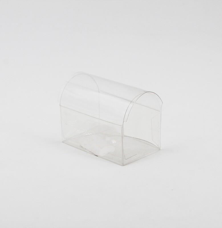 Scatolo trasparente bauletto Pz. 10