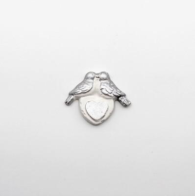Gessetto colombi argento Pz.11