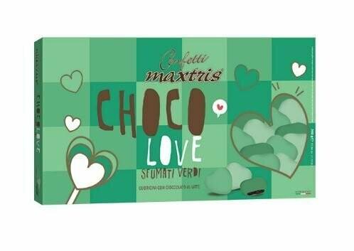 Maxtris Choco love sfumati verdi