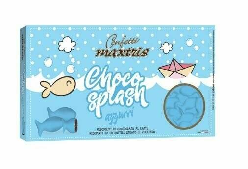 Maxtris Choco splash azzurri