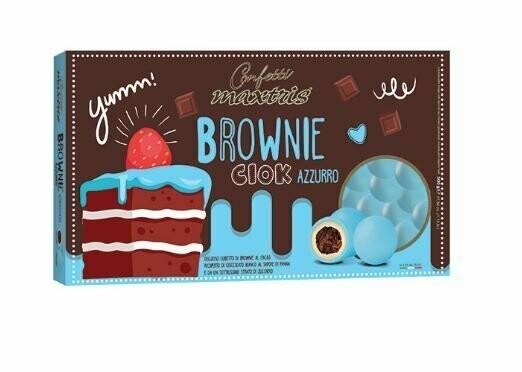Maxtris Brownie ciok azzurri