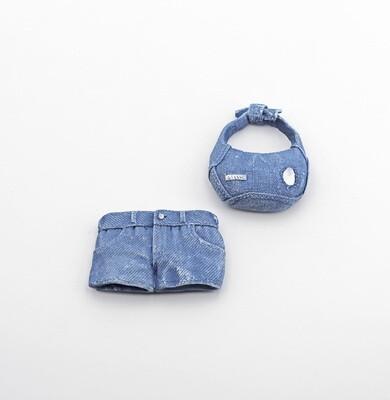 Bomboniera borsa short jeans calamitati Pz. 12