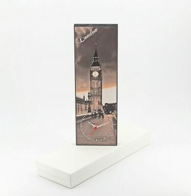 Bomboniera orologio con fantasia città Londra Pz. 1