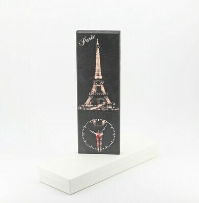 Bomboniera orologio con fantasia città Parigi Pz. 1