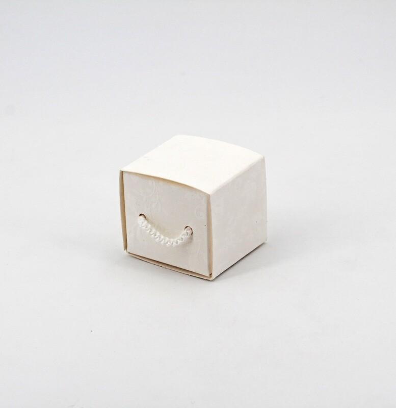 Cassetto con cordino harmony bianco Pz.10
