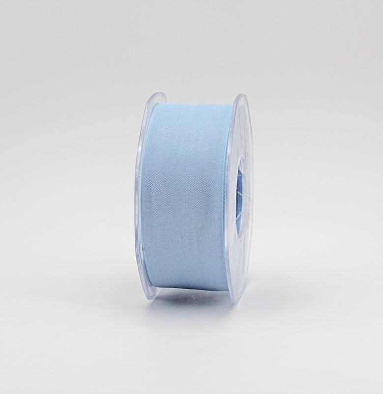 Furlanis nastro garza tipo cotone celeste colore 593 mm.40 Mt. 25