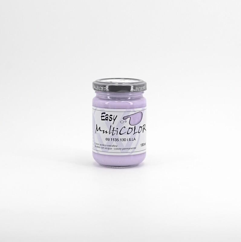 Colore acrilico lilla extrafine permanente 130 ml. Pz. 1