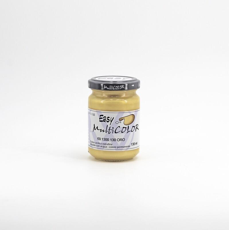 Colore acrilico oro extrafine permanente 130 ml. Pz. 1