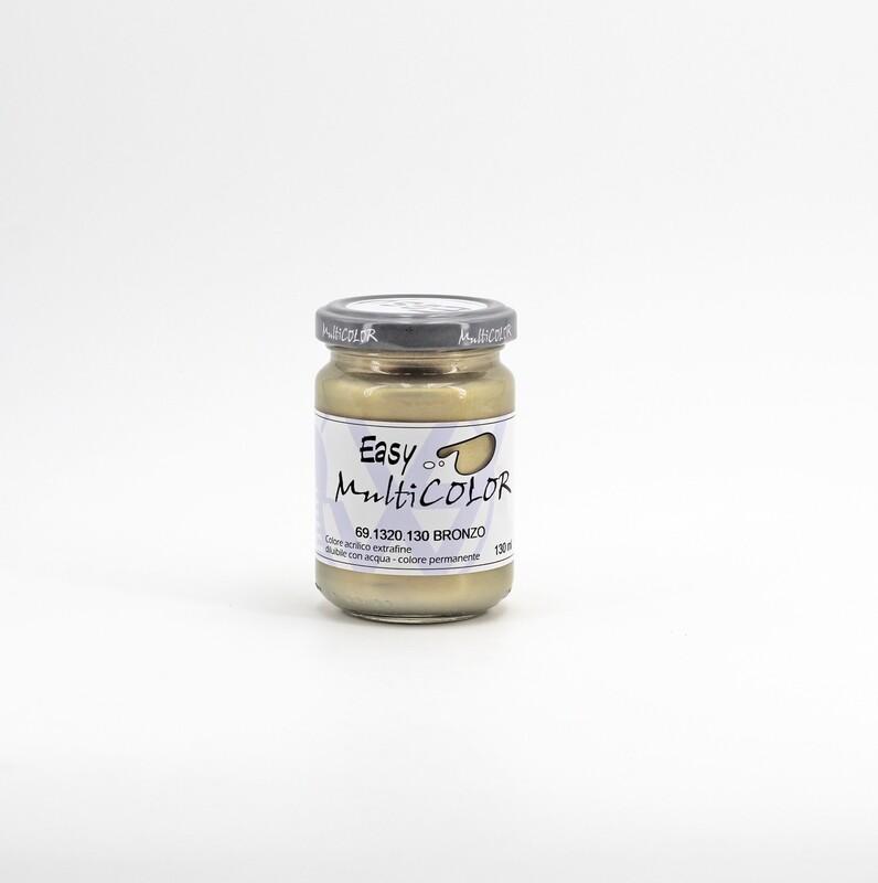 Colore acrilico bronzo extrafine permanente 130 ml. Pz. 1