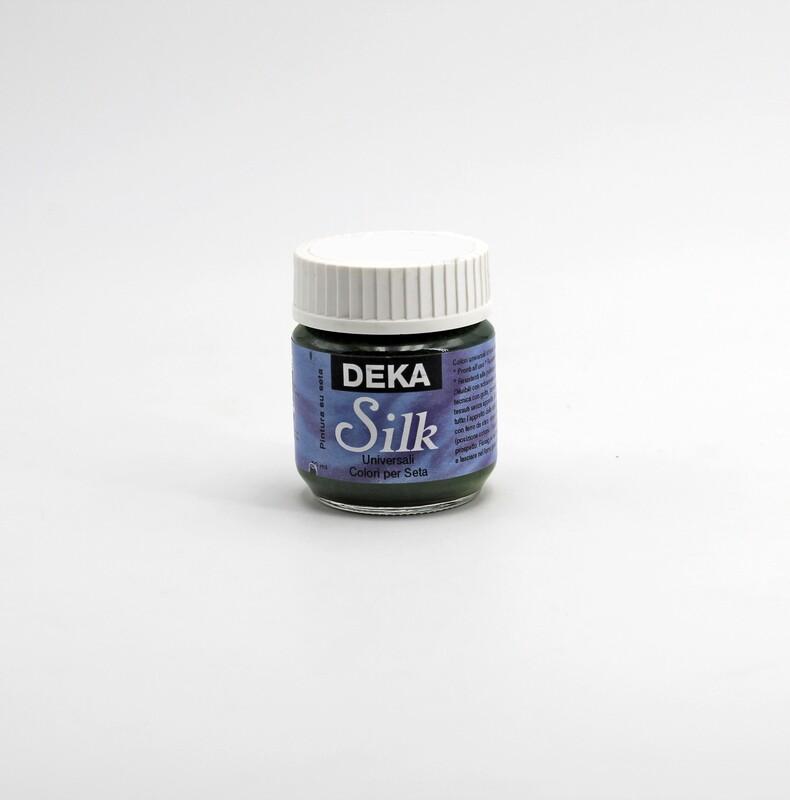 Colore oliva liquido per dipingere la seta 50 ml. Pz.1