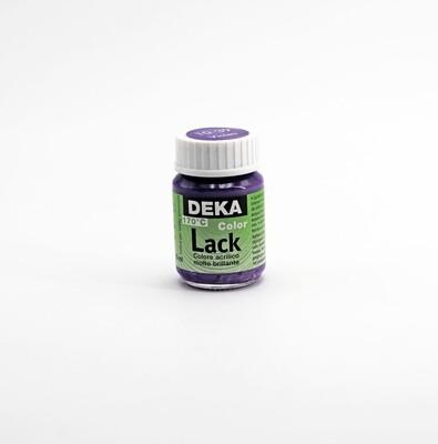 Colore acrilico brillante violetto coprente a base d'acqua 25 ml. Pz.1
