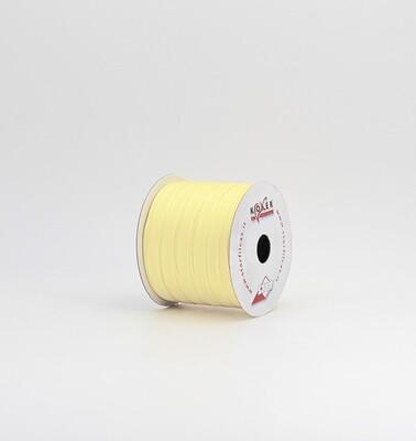 Nastro giallo chiaro taffetà mm.9 Mt. 50
