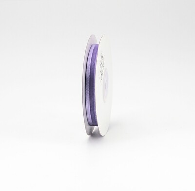 Nastro lilla organza bordata mm. 10 Mt. 25