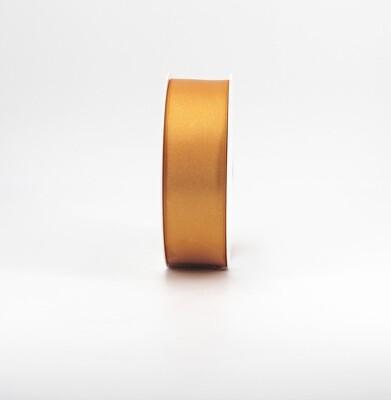 Nastro raso senape mm.38 Mt.50