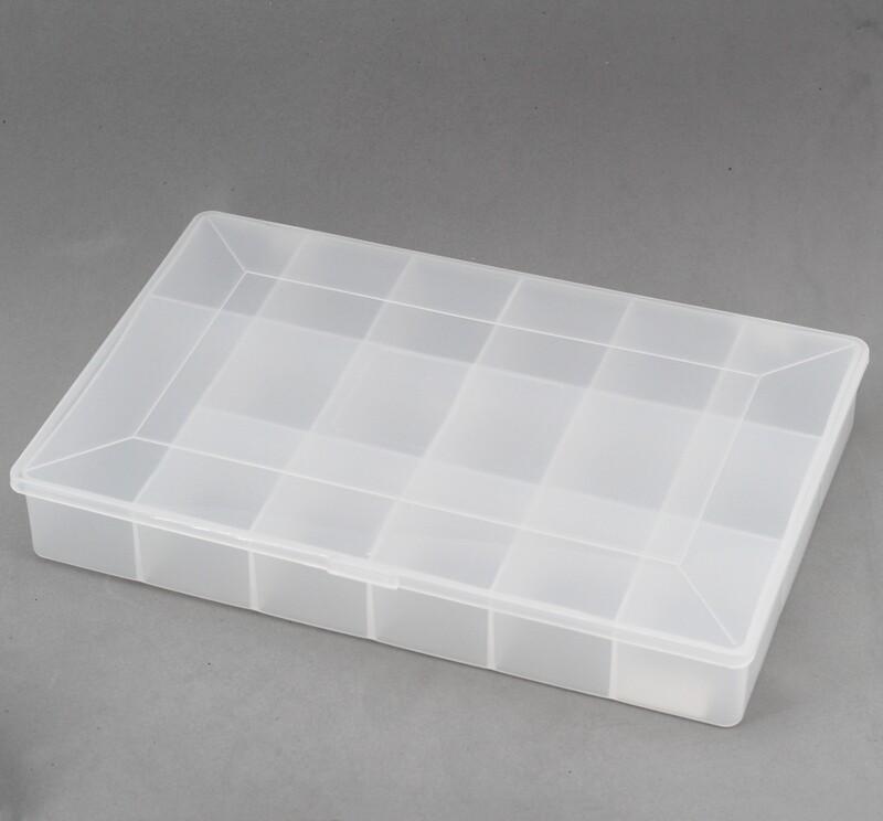 Organizer trasparente in plastica Pz.1