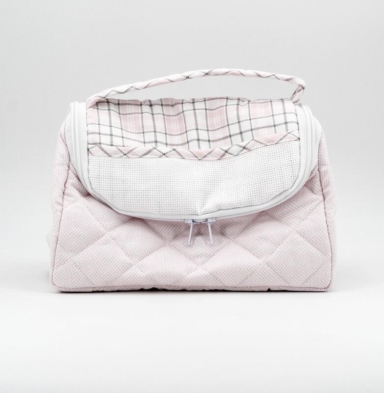 Beauty per neonato rosa fantasia scozzese Pz.1