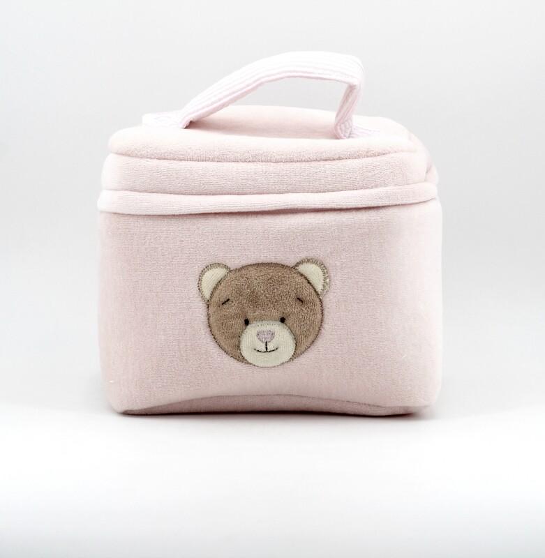 Beauty rosa orsetto con interno plastificato Pz. 1