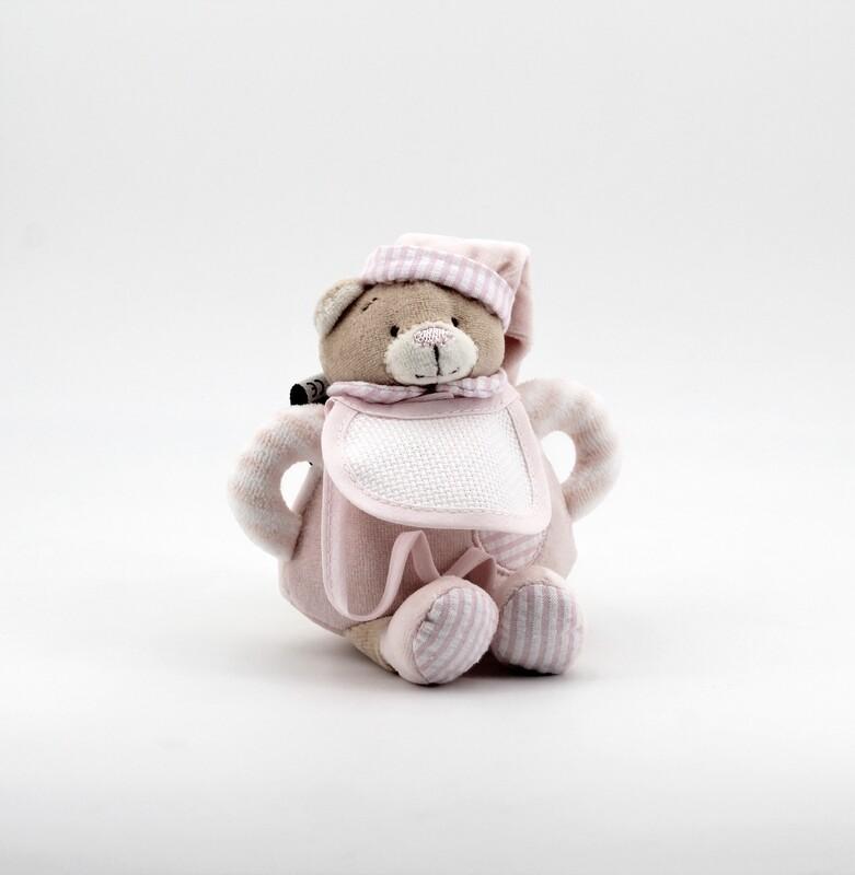 Sonaglio orsetto rosa Pz. 1