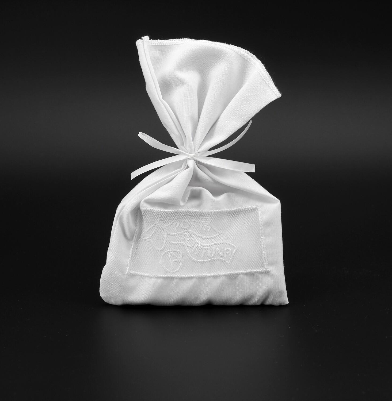 Camicino neonato bianco, 100% cotone Pz. 1