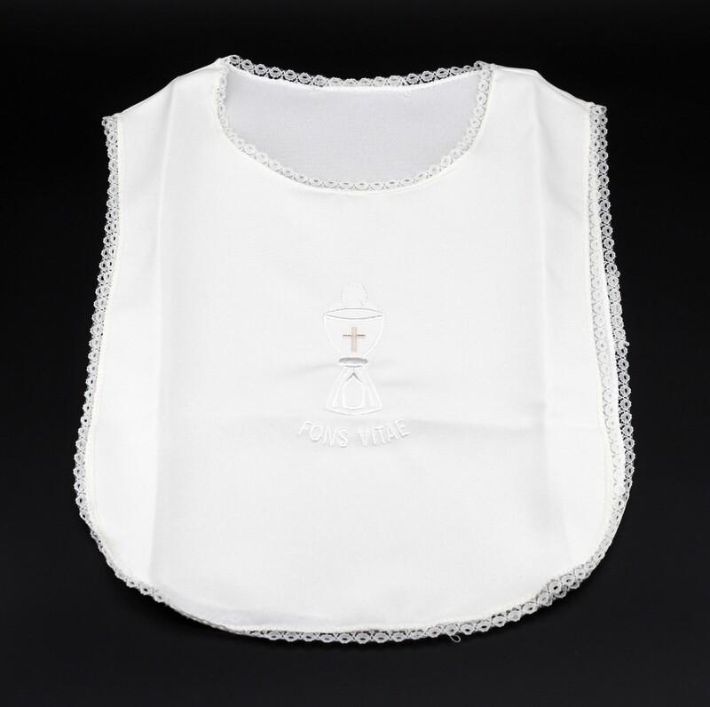 Camicina battesimale neonato avorio, Pz. 1