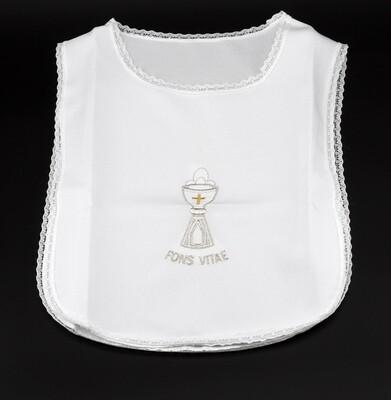 Camicina battesimale neonato bianca, Pz. 1