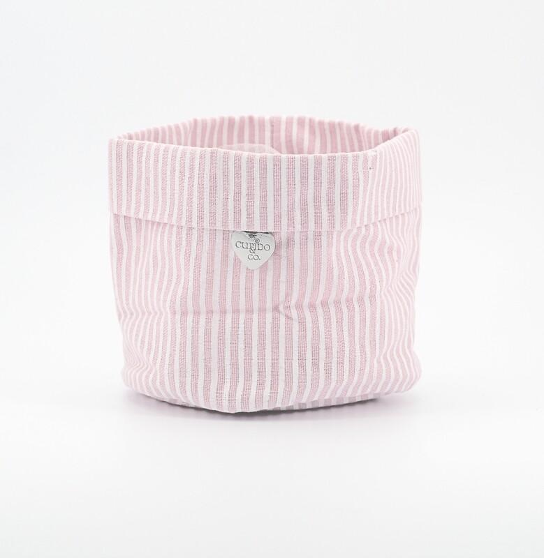Sacco a righe rosa per confettata Pz. 1