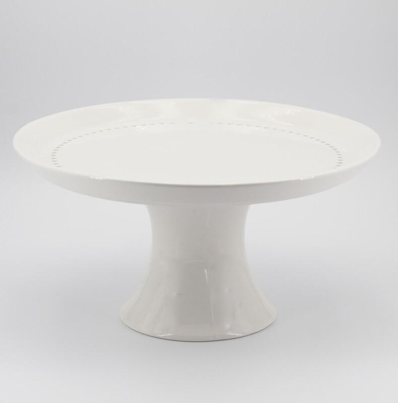 Bomboniera in porcellana alzata traforata  Pz. 1