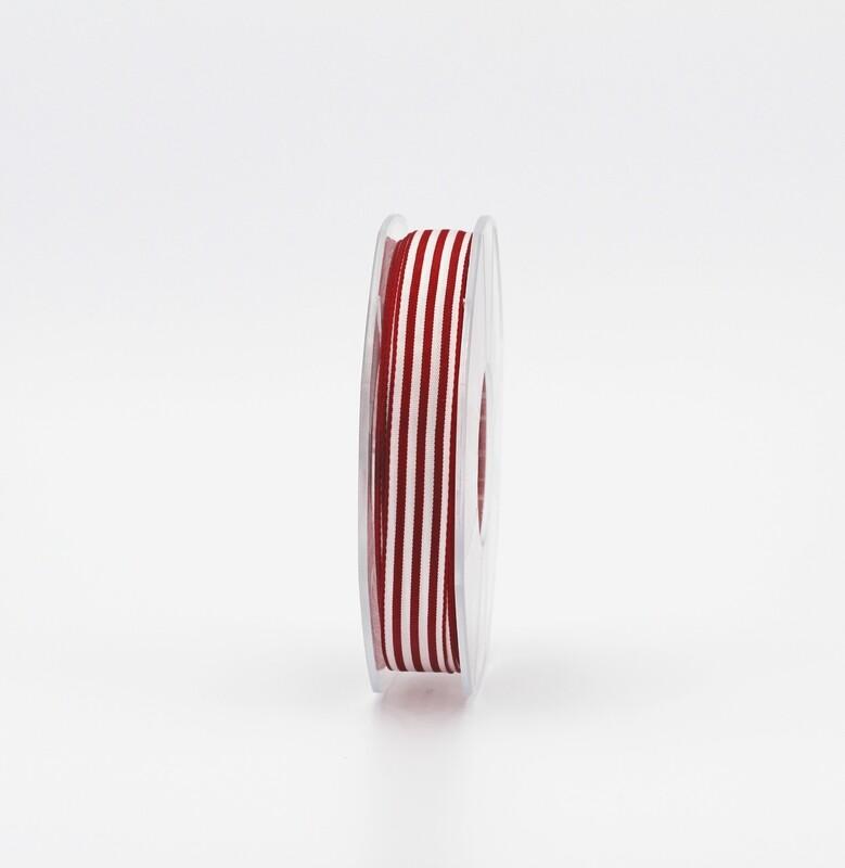 Furlanis nastro bamby rigato rosso colore 46 mm.15 Mt. 25