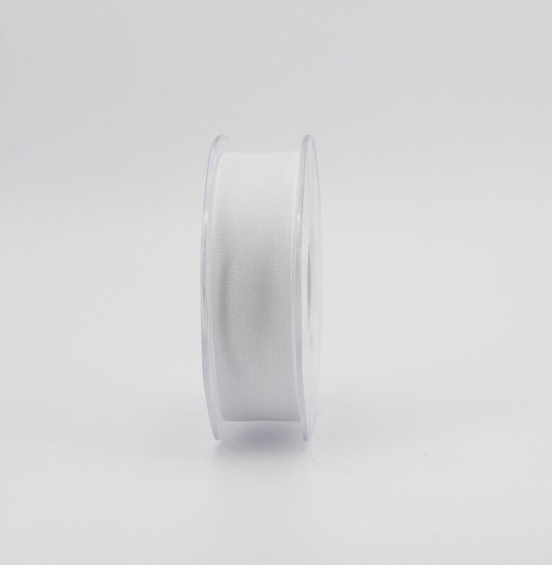 Furlanis nastro garza tipo cotone bianco colore 13 mm.25 Mt. 25