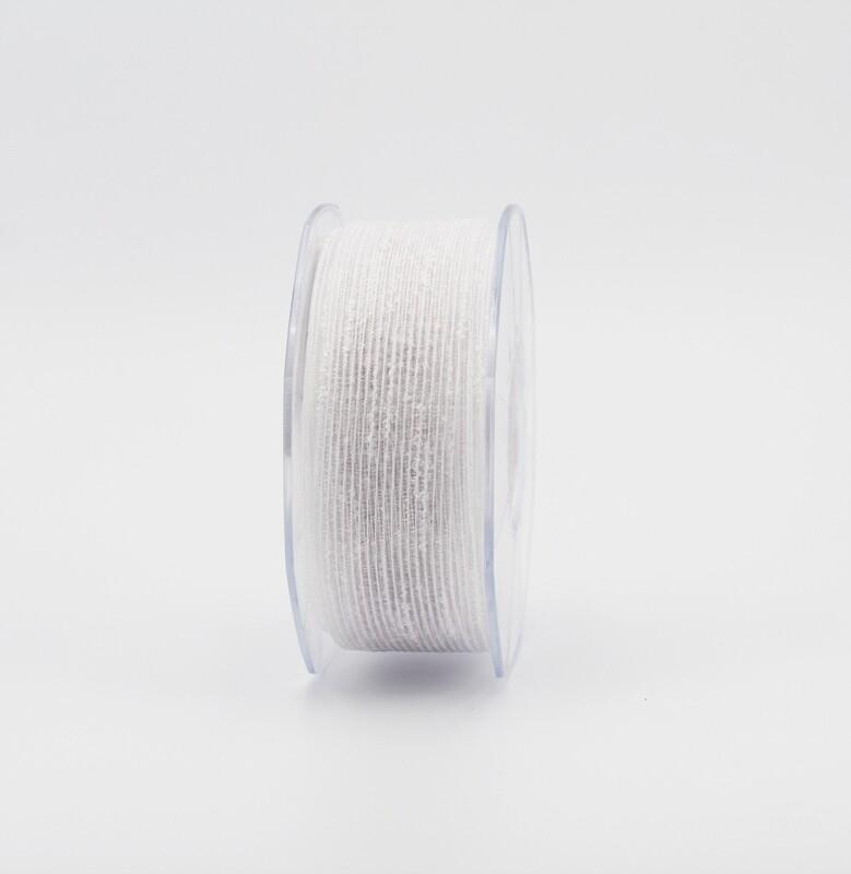 Furlanis nastro velo bianco colore 13 mm.20 Mt. 25