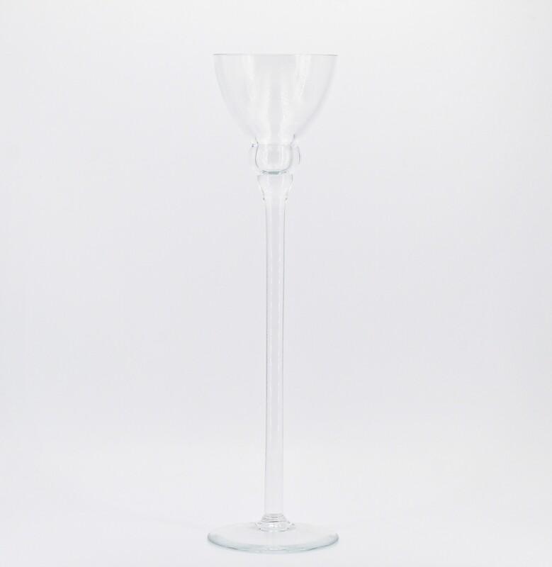 Candeliere grande in vetro  Pz.1