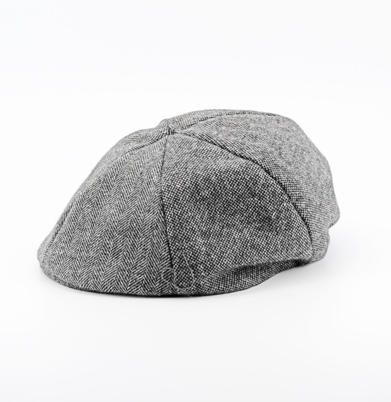 Coppola baby lana grigia misura 50/52 Pz.1