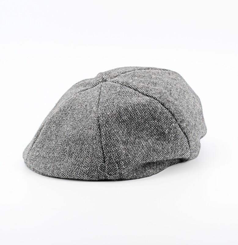 Coppola baby lana grigia misura 46/48 Pz.1