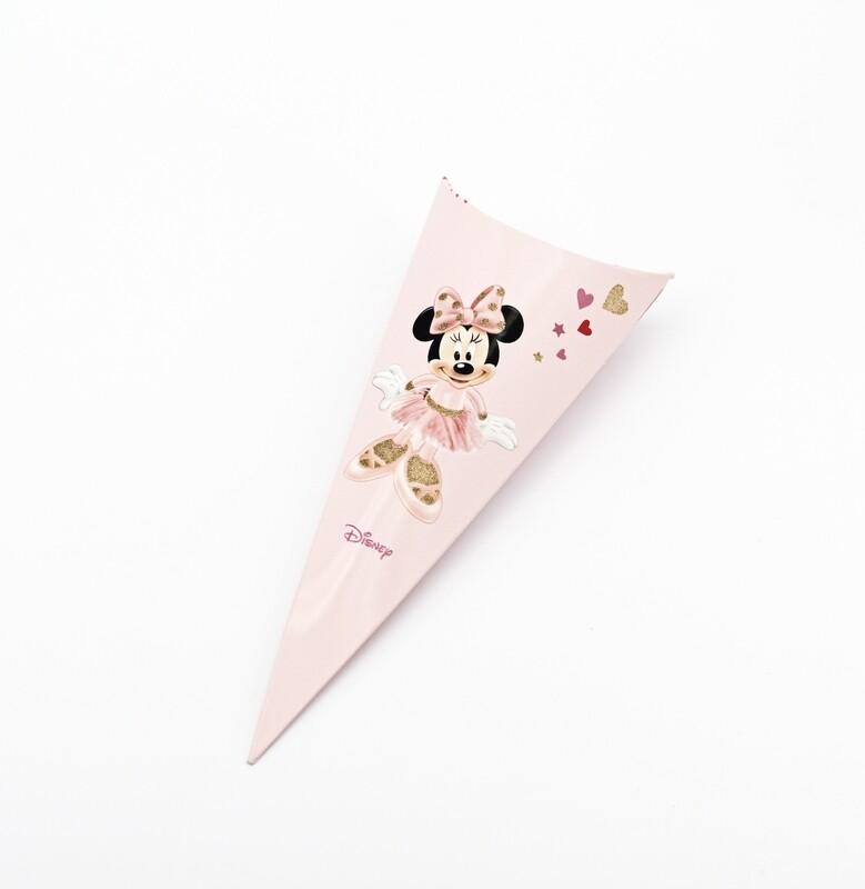 Cono minnie portaconfetti rosa Pz.10