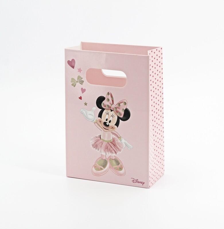 Scatola shop box minnie rosa Pz.10