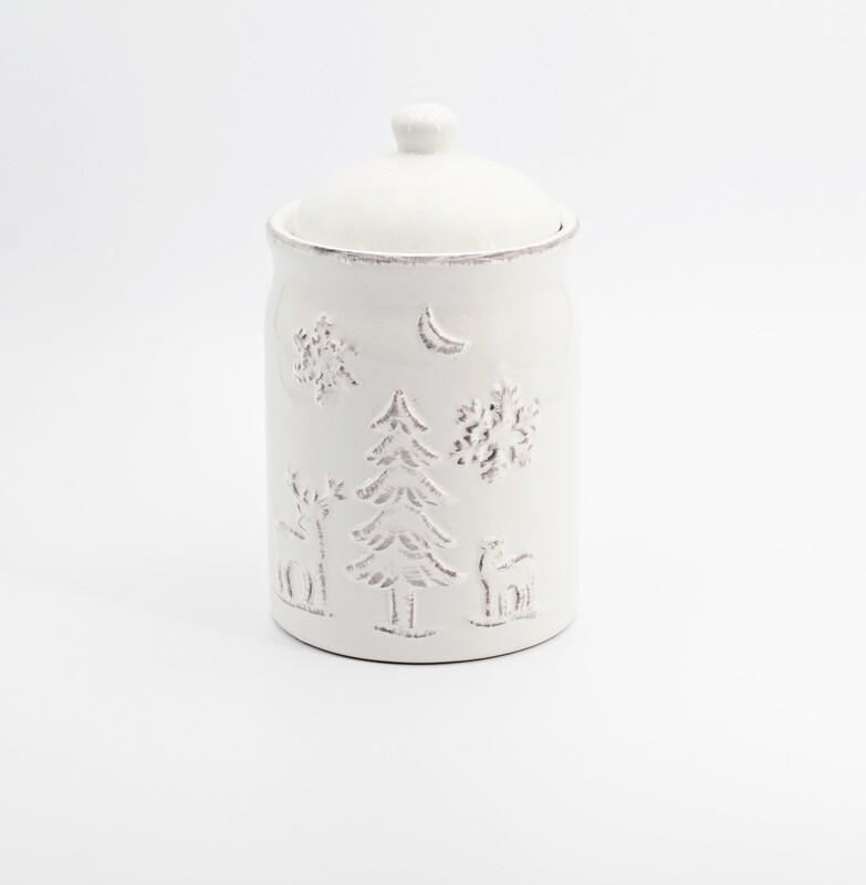 Bomboniera in ceramica baratollo tema natale Pz. 1