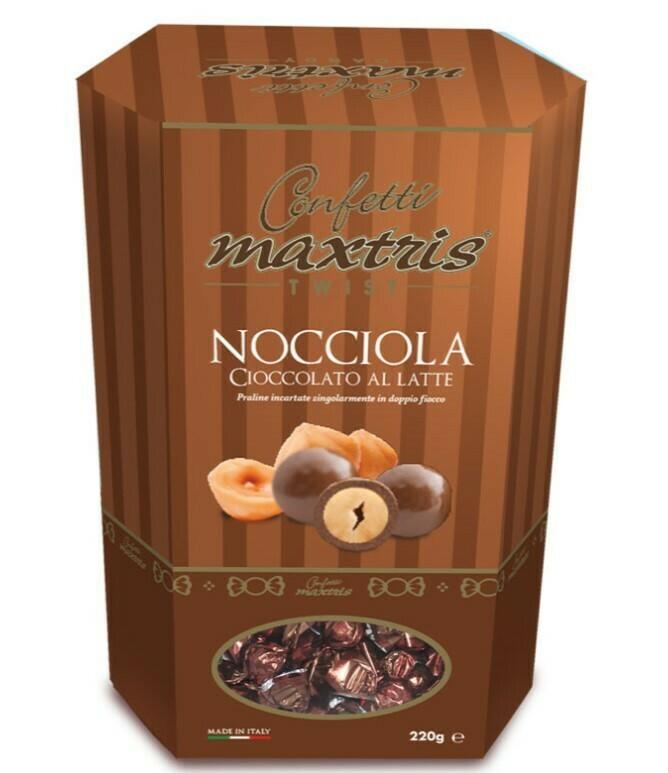 Maxtris twist nocciola cioccolata al latte Pz.1