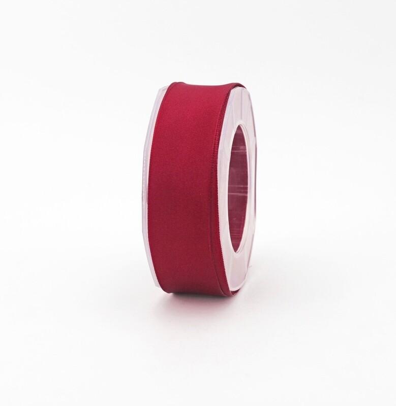 Furlanis nastro carlotta raso bordi rame rosso colore 46 mm.27 Mt.20