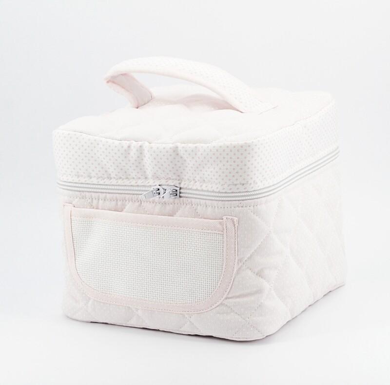 Beauty rosa per neonato con interno plastificato Pz. 1