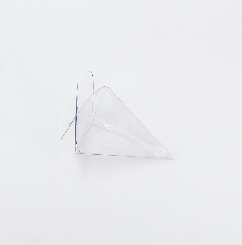 Cono spirale trasparente Pz. 10